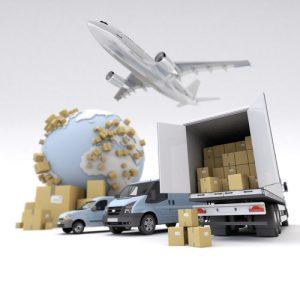 Paketų išvežiojimas Lietuvoj